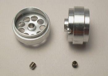 Scaleauto Felge Aluminium 19,5x10,5mm für 3mm Achsen (2Stk)