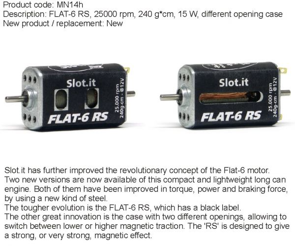 Slot It Motor MN14H 24.000 rpm