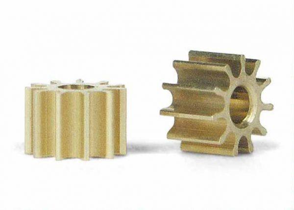 Slot It Motorritzel 10 Zähne (Ø 5,5mm) (2 Stück) PI10